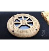 Lumbr Troy watch - van eikenhout met zilver binnenwerk | Lumbr