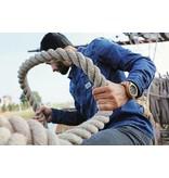 Lumbr Troy Uhr Mechanisch - Eichenholz, mit Gold