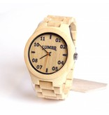 Lumbr Wooden Watch T1M3 Bamboo Large