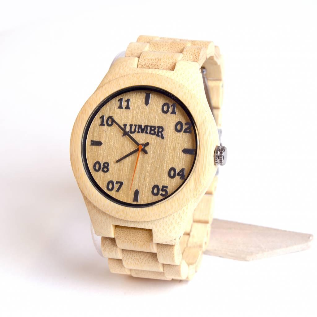 Lumbr T1m3 Armbanduhr Aus Bambus Herren Lumbr Holz Design