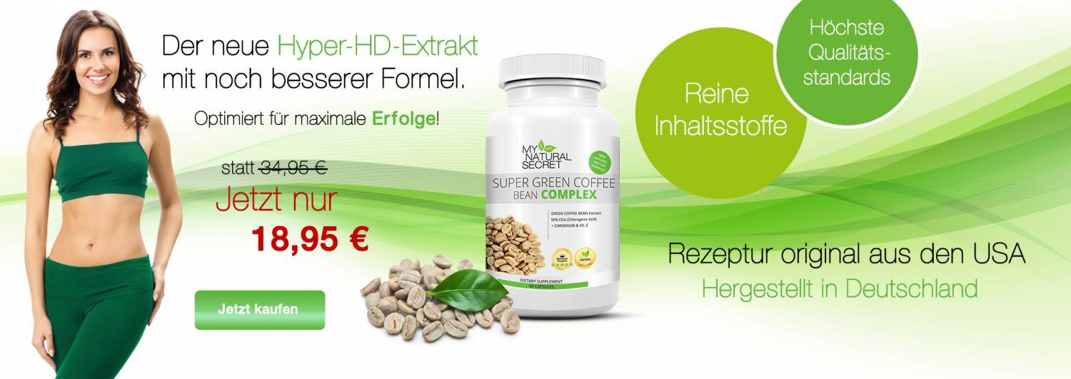 GreenCoffee Bean + Hyper HD Extrakt