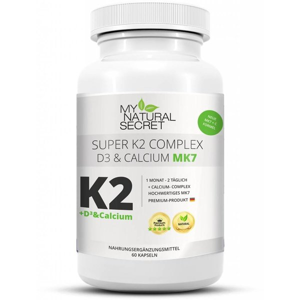 MyNaturalSecret – Vitamin K2+D3 & Calcium