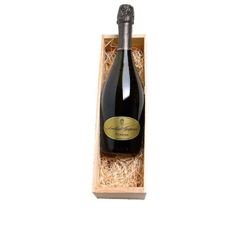 Loredan Gasparini Prosecco 1 fles in houten kist