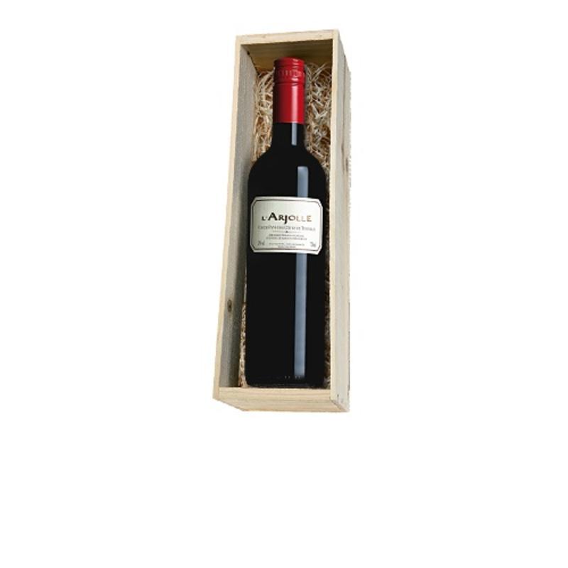 Domaine de l'Arjolle rood 1 fles in houten kist