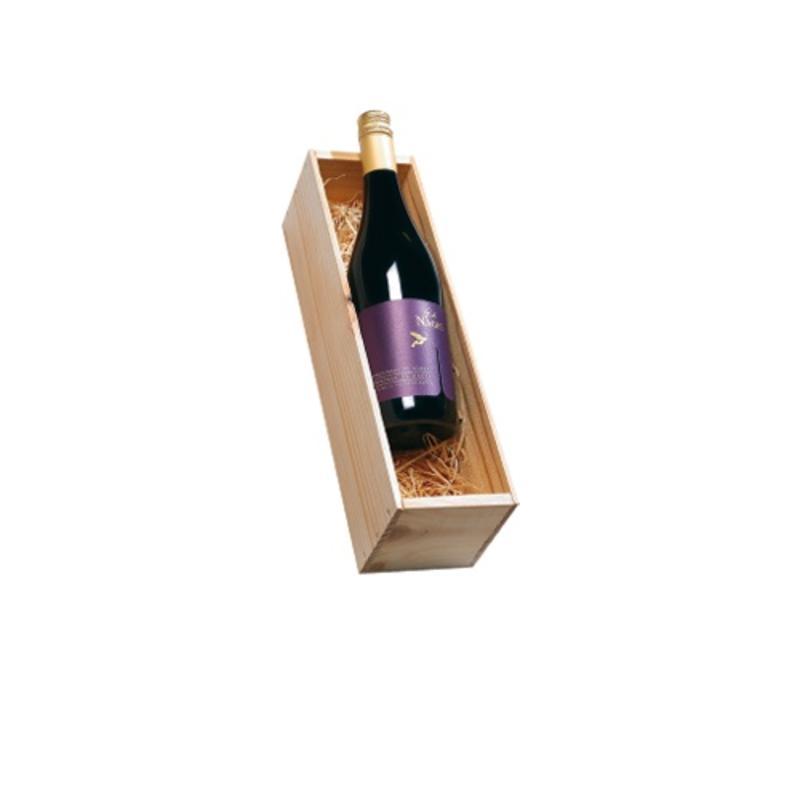Ch̢teau de Nages C̫sti̬res de N̨mes rood 1 fles in houten kist