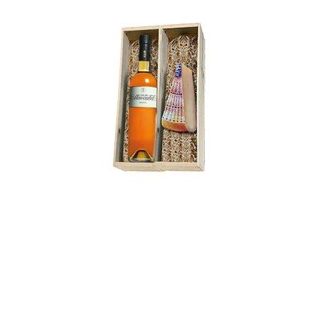 Alvear Moscatel en Reypenaar 2 jaar oude kaas in houten kist