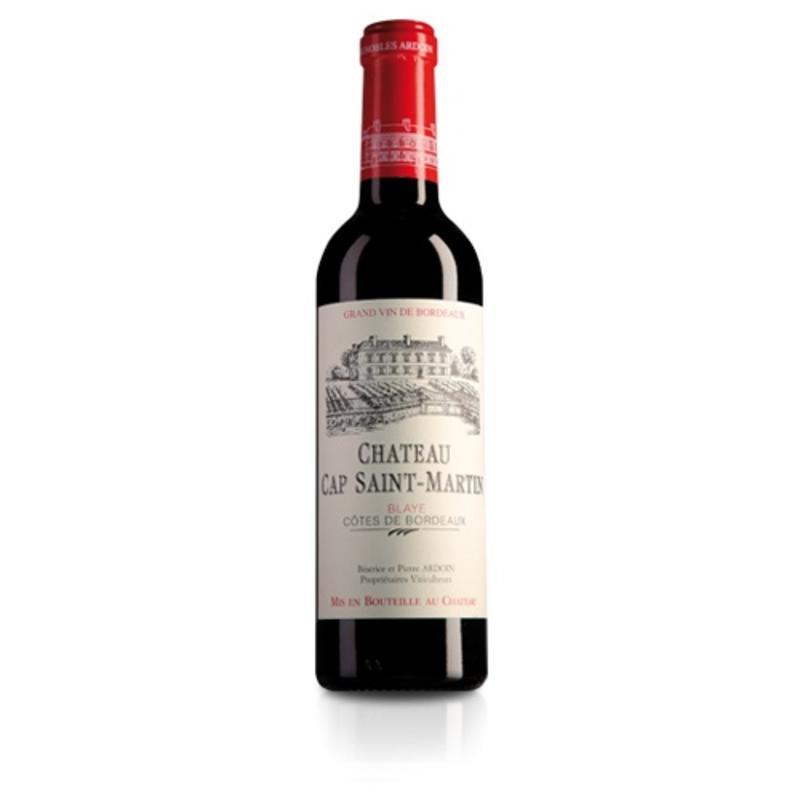2012 Château Cap Saint Martin Blaye Côtes de Bordeaux halve fles