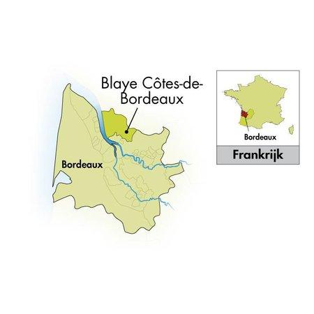 2012 Château Cap Saint Martin Blaye Côtes de Bordeaux magnum