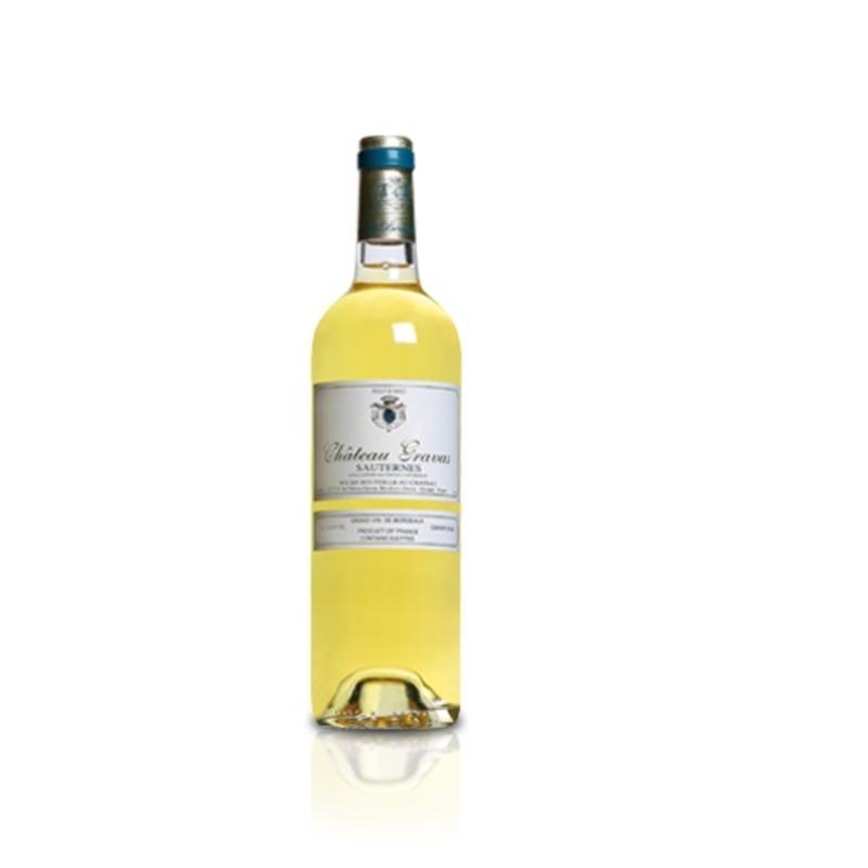 2012 Château Gravas Sauternes halve fles
