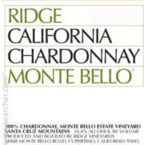 Ridge Monte Bello Chardonnay