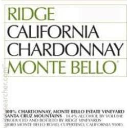 Ridge Monte Bello Chardonnay