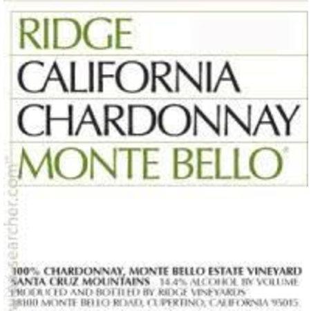 2013 Ridge Monte Bello Chardonnay