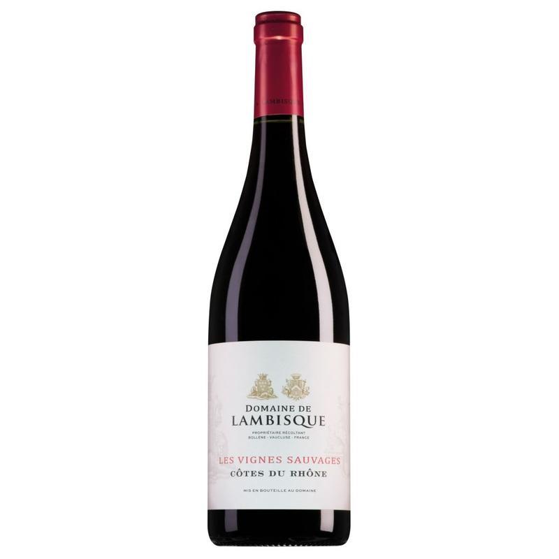 2015 Domaine de Lambisque Côtes du Rhône Les Vignes Sauvages