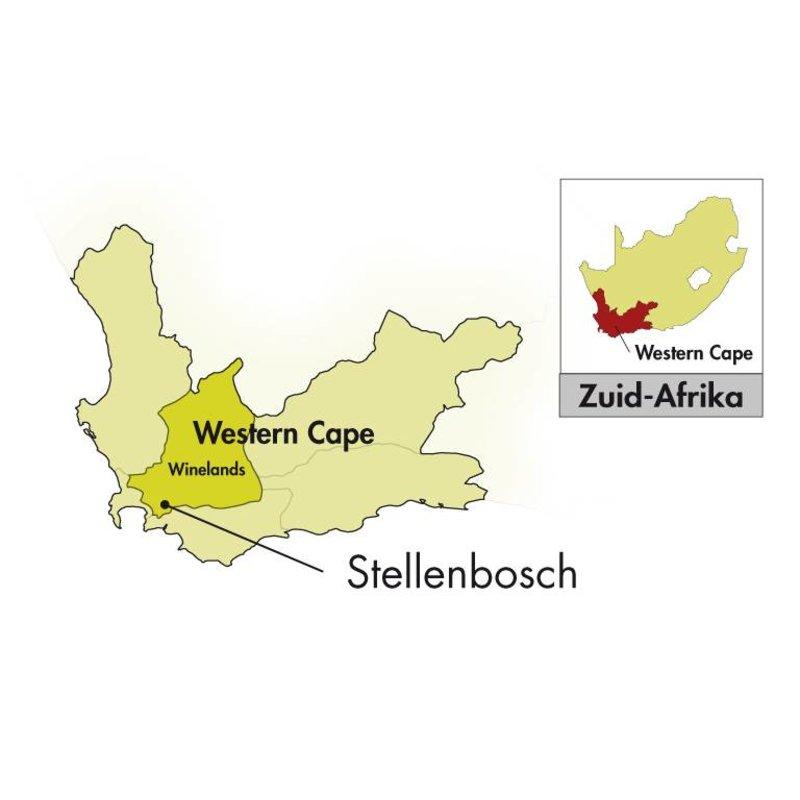 2016 DeMorgenzon Stellenbosch Walvisch Syrah-Mourvèdre-Viognier