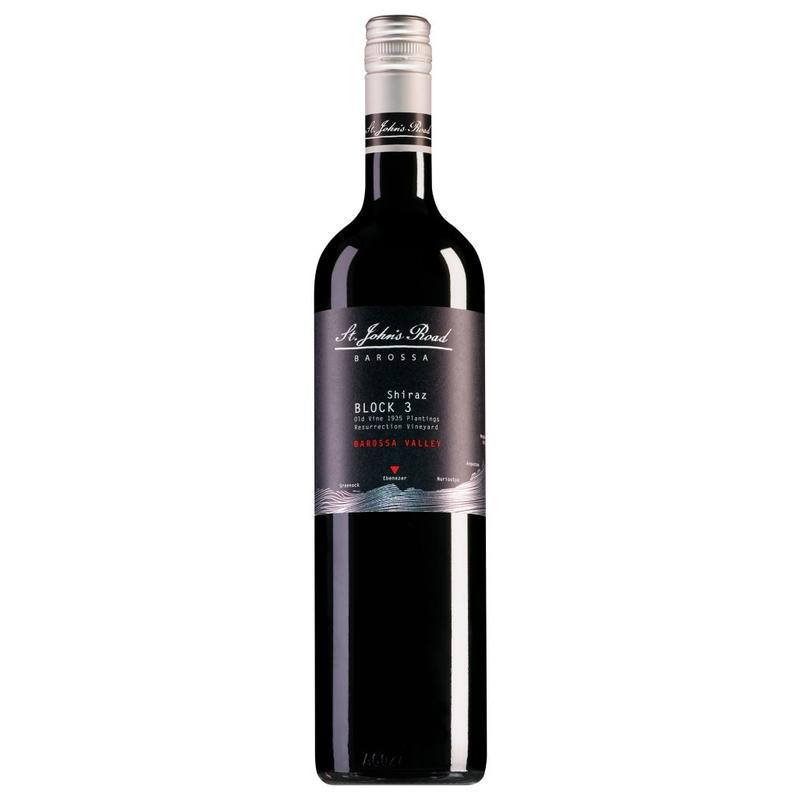 2015 St. John's Road Block 3 Shiraz