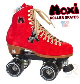 MOXI MOXI RETRO FLOSS POPPY RED ROLSCHAATSEN