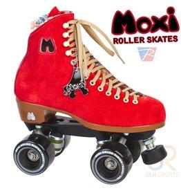 MOXI ROLLERSKATES MOXI RETRO FLOSS POPPY RED ROLSCHAATSEN