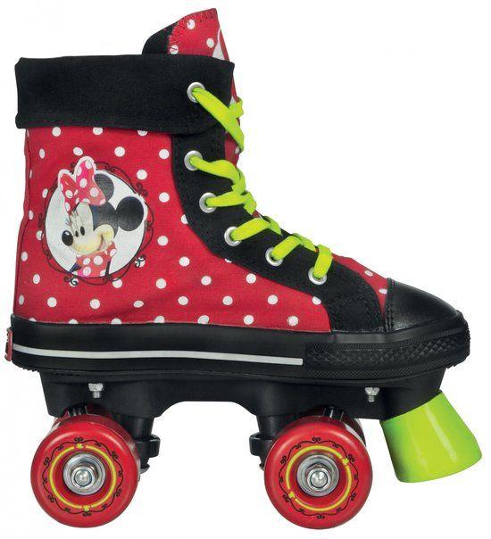 Minnie Mouse Mädchen Rollschuhe