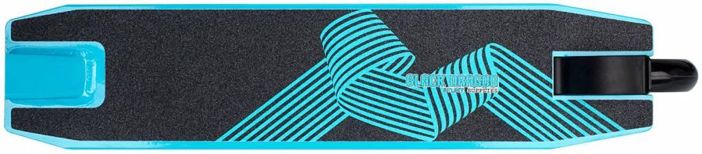 BLACK DRAGON Stunt Scooter Schwarz/Blau