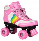 ROOKIE ROLLERSKATES ROOKIE Rollschuhe Forever Rainbow pink