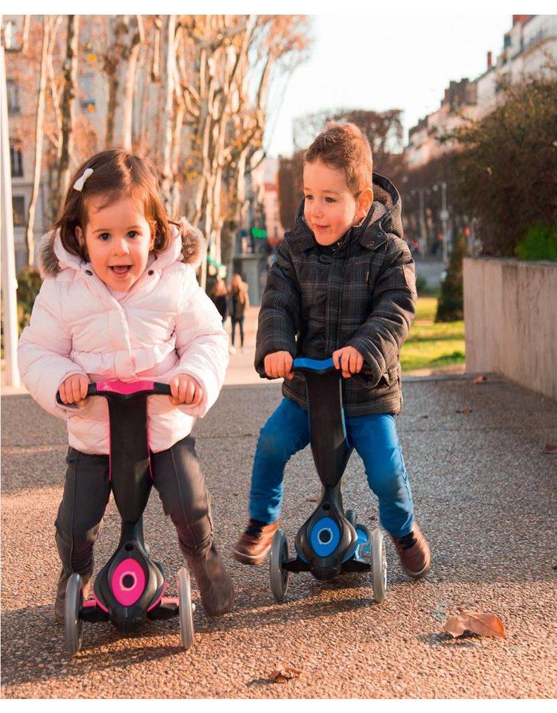 GLOBBER Globber Kinder Roller Free 4in1 3-Wheels Scooter 1+
