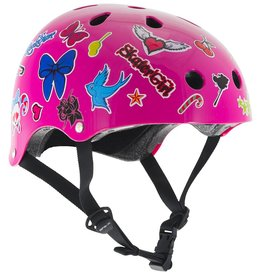 SFR ESSENTIAL SKATEHELM PINK STICKER