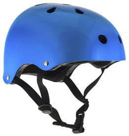 SFR ESSENTIAL SKATEHELM BLAUW METALLIC