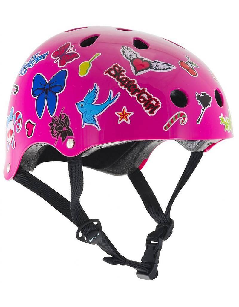 SFR Essential helmet Pink sticker