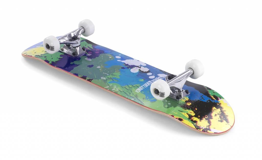 ENUFF SKATEBOARDS Enuff SPLAT Skateboard Green/Blue