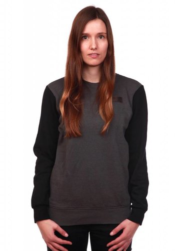 WDN | Patch Sweatshirt | GreyBlack