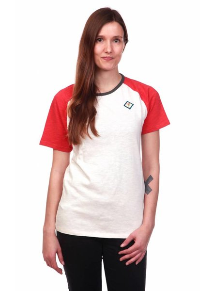 We Do Nothing WDN | Classic Red T-Shirt | WhiteRed