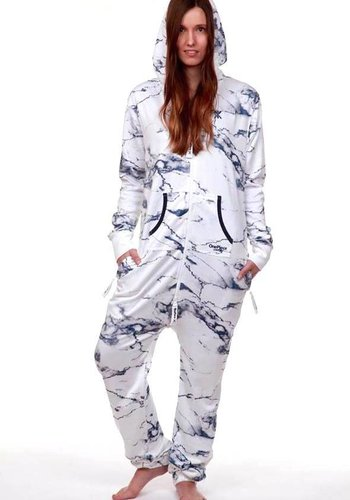 Onepiece | Marble Jumpsuit | Bright white
