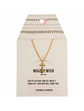 timi of sweden timi of Sweden I Anchor card necklace I Gold