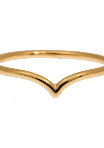 timi of Sweden I Chevron ring 15 I Gold