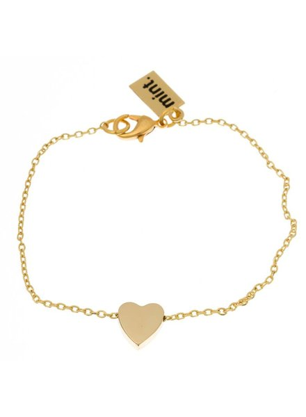 timi of sweden timi of Sweden I Sliding heart bracelet I Gold