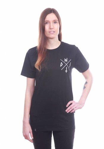 Wasted Paris I Front T-Shirt I Black