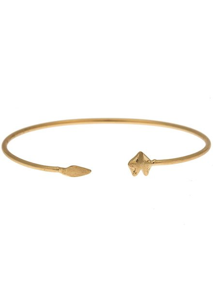 timi of sweden timi of Sweden I Fox bangle I Gold