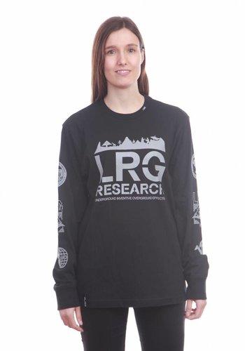 LRG I Kata Reflective Longsleeve I Schwarz