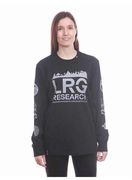 LRG LRG I Kata Reflective Longsleeve I Schwarz