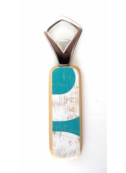 HILA Skateboard Upcycling HILA I Bottle Opener I WhiteGreen