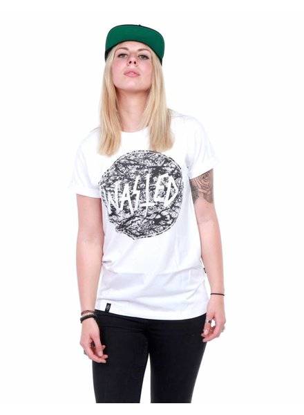 WASTED PARIS Wasted Paris I Circle Pollock T-Shirt I Weiß