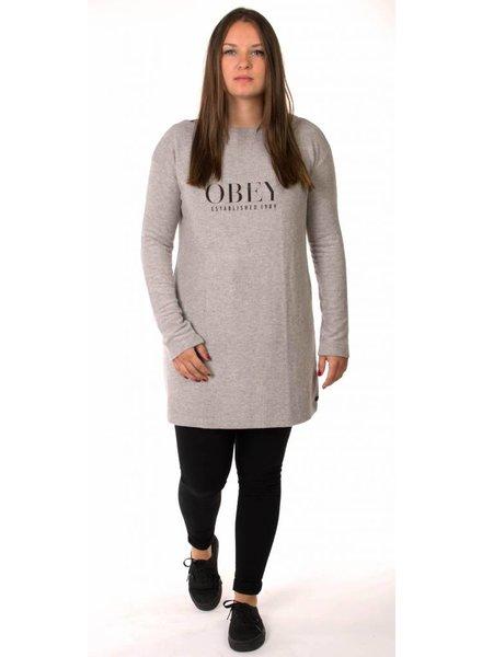 Obey Obey I Vanity Dress I Grau