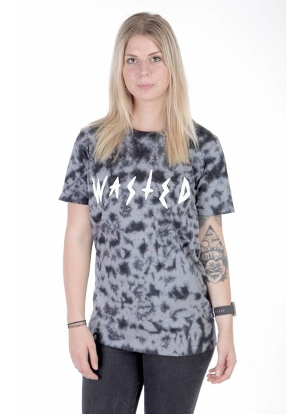 WASTED PARIS Wasted Paris I Slaves T-Shirt I SchwarzGrau