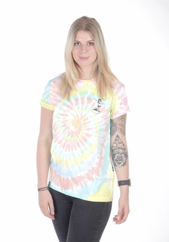 Wasted Paris I Surfing' Girl T-Shirt I Multicolored