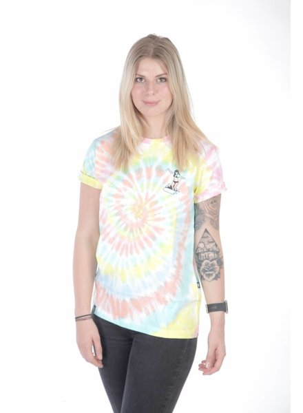 WASTED PARIS Wasted Paris I Surfing' Girl T-Shirt I Multicolored