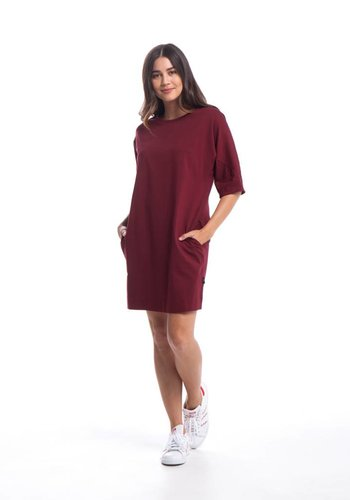 Publish I Bell Shirt Dress I Red