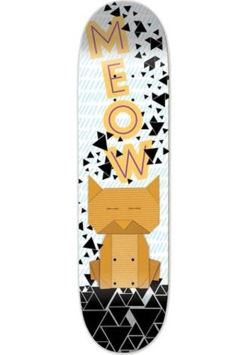 Meow Skateboards I Origami Cat