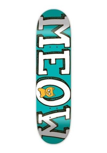 Meow Skateboards I Logo I Teal
