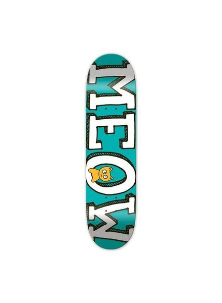 Meow Skateboards Meow Skateboards I Logo I Teal