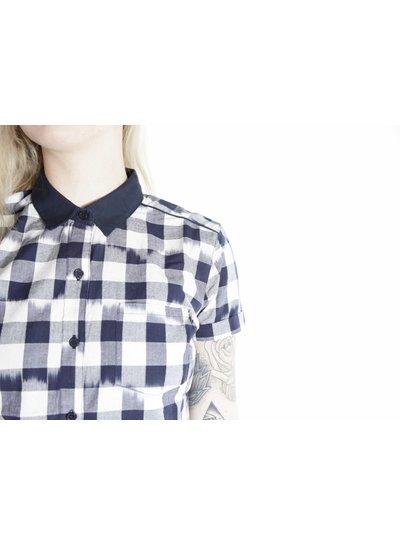 Obey Obey I Hopper Dress I BlauWeiß